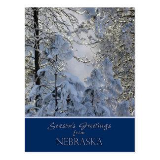 Nebraska Christmas Card/state specific post cards