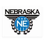 Nebraska Crest Design Post Cards
