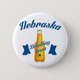 Nebraska Drinking team 2 Inch Round Button