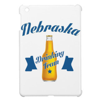 Nebraska Drinking team iPad Mini Cover