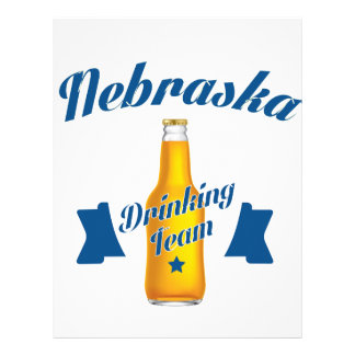 Nebraska Drinking team Letterhead