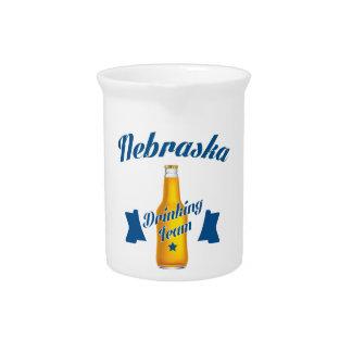 Nebraska Drinking team Pitcher