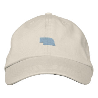 Nebraska Embroidered Hat