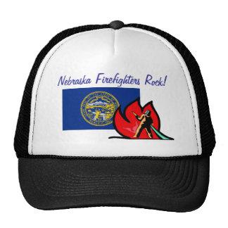 Nebraska Firefighters Hat Trucker Hat