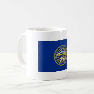 Nebraska Flag Coffee Mug
