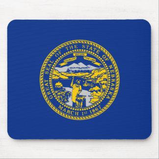 Nebraska Flag Mouse Pad