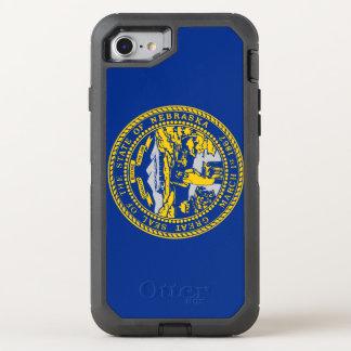 Nebraska Flag OtterBox Defender iPhone 8/7 Case