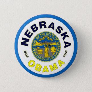NEBRASKA FOR OBAMA Button