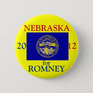 Nebraska for Romney 2012 2 Inch Round Button