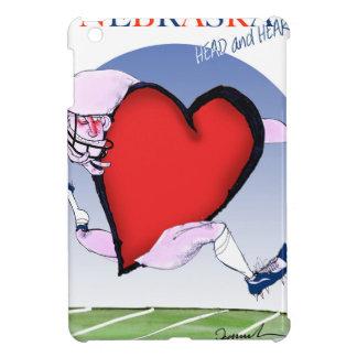nebraska head heart, tony fernandes iPad mini cover