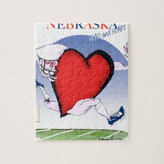 nebraska head heart, tony fernandes jigsaw puzzle