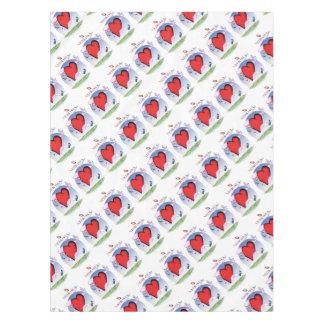 nebraska head heart, tony fernandes tablecloth