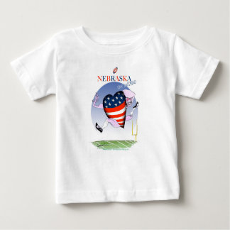 nebraska loud and proud, tony fernandes baby T-Shirt