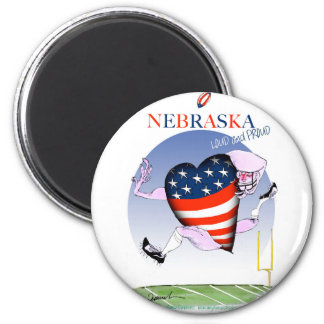 nebraska loud and proud, tony fernandes magnet