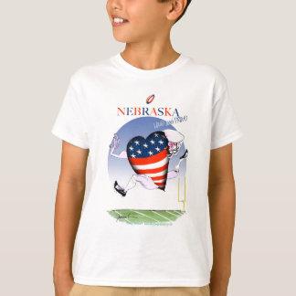 nebraska loud and proud, tony fernandes T-Shirt