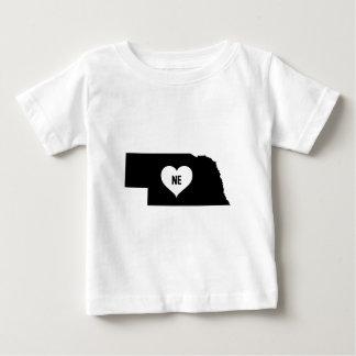 Nebraska Love Baby T-Shirt