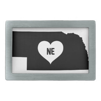 Nebraska Love Belt Buckle