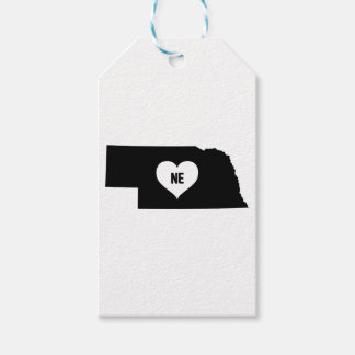 Nebraska Love Gift Tags