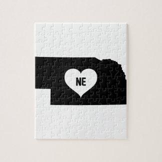 Nebraska Love Jigsaw Puzzle