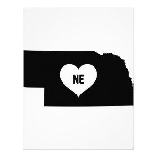 Nebraska Love Letterhead