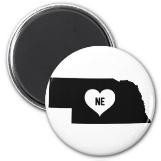 Nebraska Love Magnet