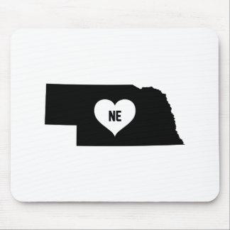 Nebraska Love Mouse Pad