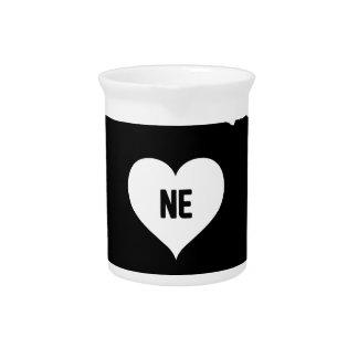 Nebraska Love Pitcher