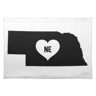 Nebraska Love Placemat