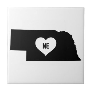 Nebraska Love Tile