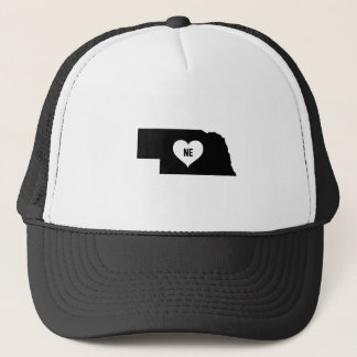 Nebraska Love Trucker Hat