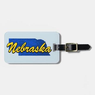 Nebraska Luggage Tag