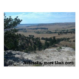 Nebraska, more than corn postcard