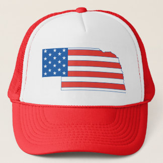 Nebraska Patriotic Hat
