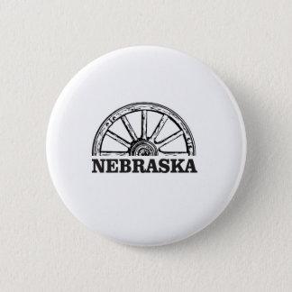nebraska pioneer 2 inch round button