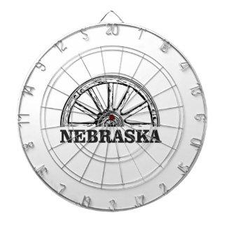 nebraska pioneer dartboard