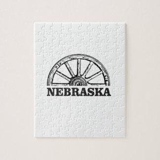 nebraska pioneer jigsaw puzzle