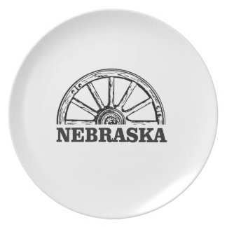 nebraska pioneer plate