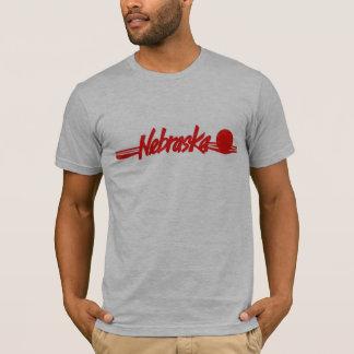 Nebraska Red Sunset Shirt