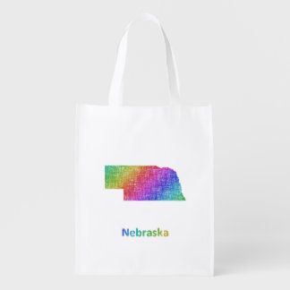 Nebraska Reusable Grocery Bag