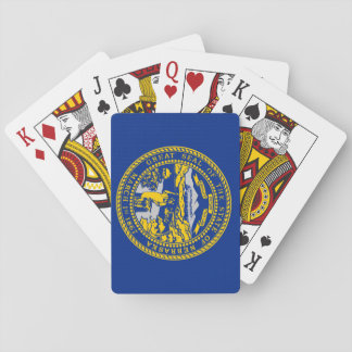 Nebraska State Flag Playing Cards