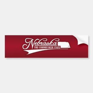 Nebraska State of Mine Bumper Sticker