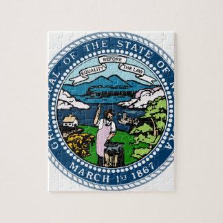 Nebraska State Seal Jigsaw Puzzle