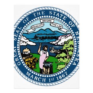 Nebraska State Seal Letterhead