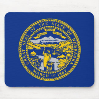 Nebraska State Seal Mouse Pad