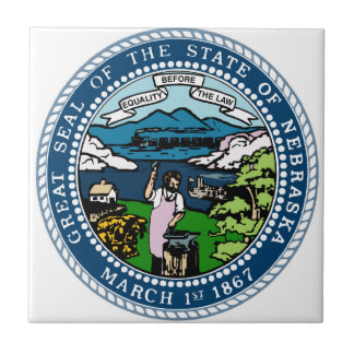 Nebraska State Seal Tile