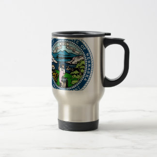 Nebraska State Seal Travel Mug