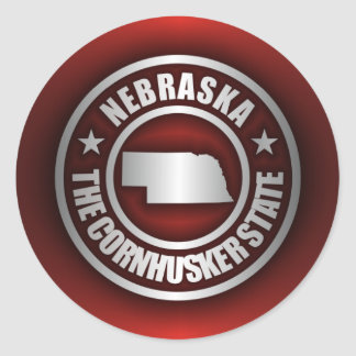 """Nebraska Steel 2"" Stickers"