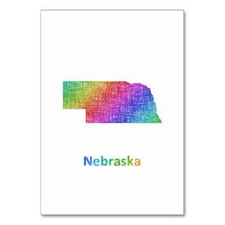 Nebraska Table Card