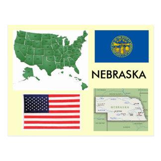 Nebraska, USA Postcard