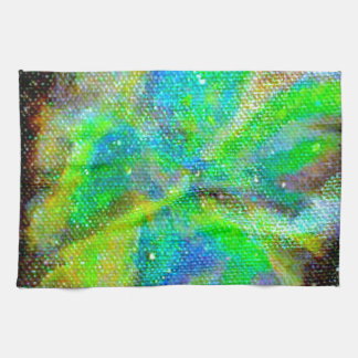Nebula and Stardust Cosmic Space Scene Kitchen Towel